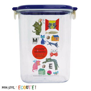806151/モンスイユ/[ECOUTE!]E.minetteエクートミネット キャニスターMサイズ(コラージュ)/食器/キッチン/収納/保存/整理/整頓/ギフト/プレゼント
