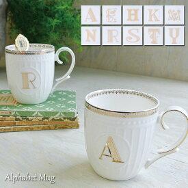 アルファベット マグ 23590-99 ニコット 陶磁器 ギフト ボックス メッセージ 素敵 贈り物 食器 coffee コーヒー tea ティー 母の日