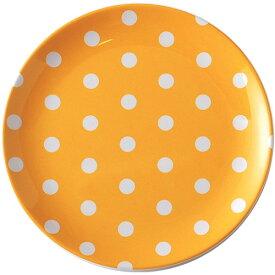 DOMEPLYE/キーストーン カラードット メラミンプレート【イエロー/YELLOW/黄色】食器/皿/割れにくい/新生活/業務用