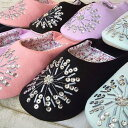 スリッパ バブーシュ ルームシューズ 可愛い かわいい おしゃれ 室内履き レディース エスニック モロッコ モロッカン…