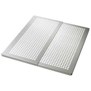 オールステンレス 頑丈伸縮スライドプレート/レギュラータイプ奥行約47cm/キッチン用品