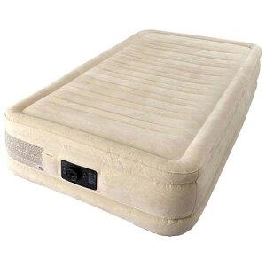INTEX エアーベッド シングル インテックス 極厚 高さ 33cm インテックス エアーベット エアー エア ベッド ベット エアベッド エアベット マットレス エアーマットレス 電動 エアーマット エア