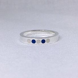 レジンのドットリング(カラーカスタム可) シルバーリング シンプルリング 可愛いリング 可愛い指輪 プチギフト プレゼント レディース 女性 大きいサイズ