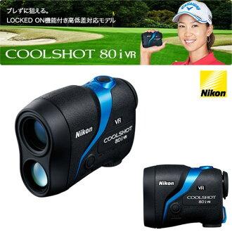 尼康酷射击 80i VR 尼康 COOLSHOT 80i VR 手持激光测距仪测量设备
