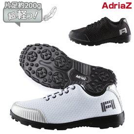 ゴルフシューズ スパイクレス 超軽量 片足約200g メンズ シューズ アドリアズ 靴 AdriaZ 撥水 軽い靴 疲れにくい