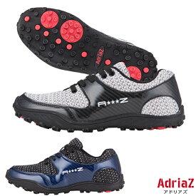 ゴルフシューズ スパイクレス メンズ 売り尽くし ニットシューズ アドリアズ 靴 AdriaZ 撥水 幅広 3E