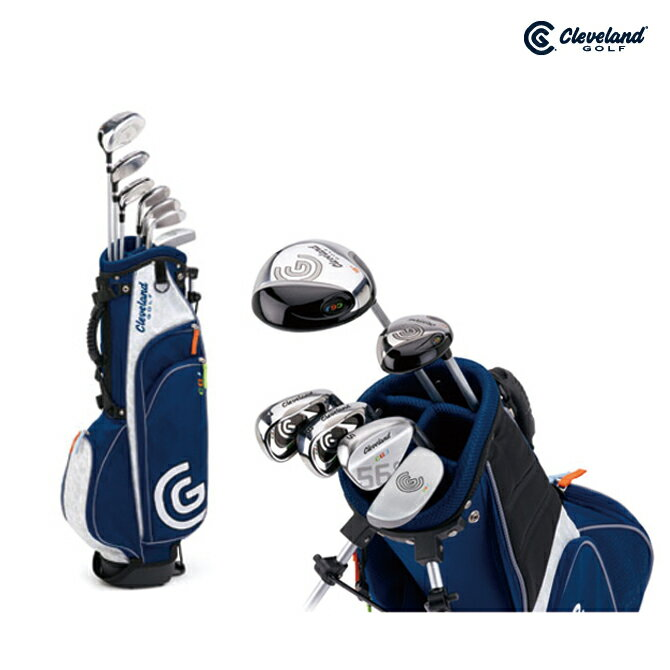 ゴルフ クラブセット ジュニア クリーブランド Cleveland クラブセット 7-10歳対象【メーカー取寄せ】