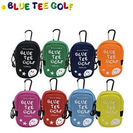 ゴルフ ストレッチ多機能ポーチ ブルーティーゴルフ ネオプレイン カラビナ付き 距離計ケース ボール入れ