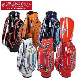 キャディバッグ エナメルバッグ ブルーティーゴルフ ゴルフカートバッグ 5分割 9インチ BTG-CB005