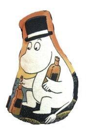 【ムーミン】ダイカットクッション(ムーミンパパ/ウイスキーボトル)[543247]