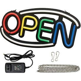 LEDライトサイン OPEN (4色) No.29939