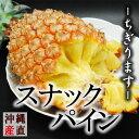 ちぎって食べる スナックパイン 大玉 約2kg(L約1kg×2玉入り) 【 送料無料 】 沖縄県 産直 お中元 贈答用 ギフト ボゴール パイナップル 期間限定