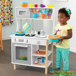 【送料無料】キッドクラフト 初めてのキッチン おままごと おままごとセット お料理 クッキング 子供 子ども こども ままごと キッズ おもちゃ 玩具 男の子 女の子 お誕生日 プレゼント 贈