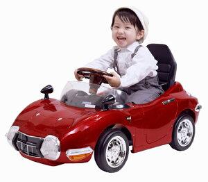 【ペダルカー】TOYOTA 2000GT レッド TGT-NR 子供用 キッズ 車 ペダル 子供 プレゼント 足こぎ おもちゃ