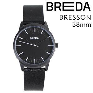 BREDAブレダ腕時計38mmメンズ時計ブレッソンBRESSON5020Cブラック/ブラック[4/18新入荷][175]