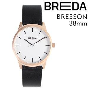 BREDAブレダ腕時計38mmメンズ時計ブレッソンBRESSON5020Eローズゴールド/ブラック[4/18新入荷][175]