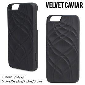 Velvet Caviar IPHONE MIRROR & WALLET CASE BLACK ヴェルヴェット キャビア iPhone8 iPhone7 7Plus 6s ケース スマホ iPhoneケース アイフォン アイフォン ベルベット レディース ブラック [1710]【ネコポス可】