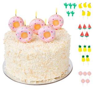 サニーライフ SUNNYLIFE キャンドル ロウソク ろうそく ケーキ 5個セット バースデー 誕生日 SUNNY LIFE Cake Candles 5カラー