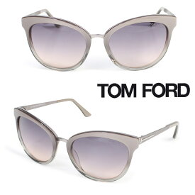 TOM FORD トムフォード サングラス メガネ レディース アイウェア FT0461 EMMA SUNGLASSES ベージュ [178]