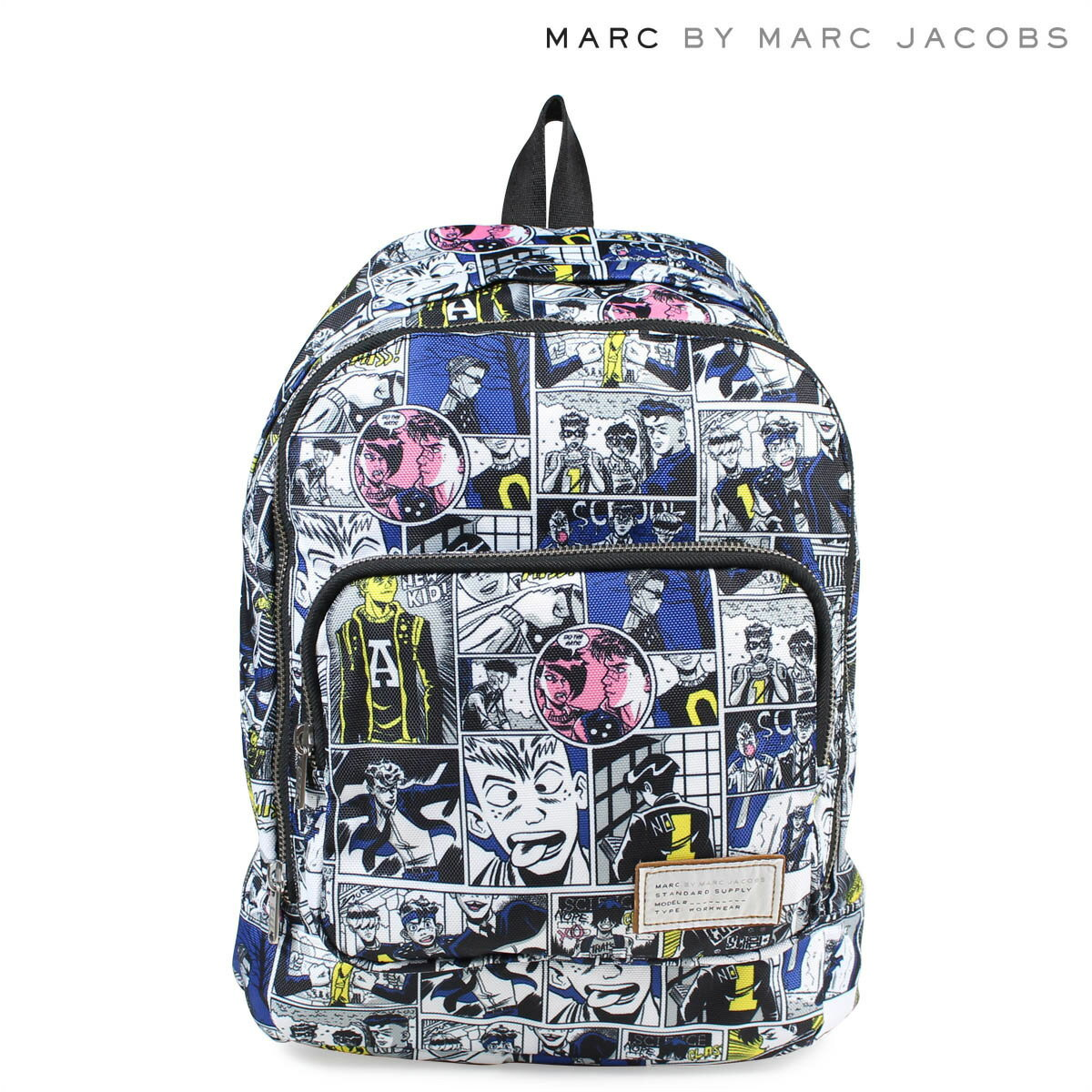 MARC BY MARC JACOBS CARTOON BACKPACK マークバイマークジェイコブス バッグ リュック レディース バックパック M0006405 ホワイト [1712]