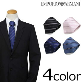 EMPORIO ARMANI エンポリオ アルマーニ ネクタイ イタリア製 シルク ビジネス 結婚式 メンズ [192]