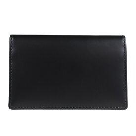 ETTINGER BRIDLE VISITING CARD CASE エッティンガー 名刺入れ カードケース メンズ ブラック ネイビー ブラウン グリーン 黒 BH143JR [193]