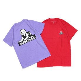 JUNGLES SPHINX LOGO TEE ジャングルズ Tシャツ メンズ 半袖 レッド パープル JTS181007 [189]