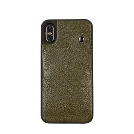 BANDOLIER iPhone XR ALEX GREEN バンドリヤー ケース スマホ アイフォン レザー メンズ レディース グリーン