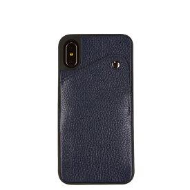 BANDOLIER iPhone XS MAX ALEX NAVY バンドリヤー ケース スマホ アイフォン レザー メンズ レディース ネイビー