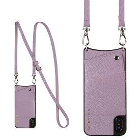BANDOLIER iPhone 6 6s 7 8 Plus EMMA LILAC バンドリヤー ケース ショルダー スマホ アイフォン レザー メンズ レディース ライラック 10EMM1001 [191]