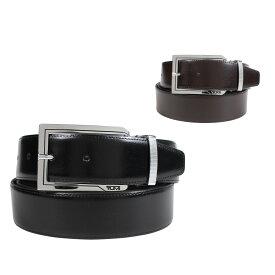 TUMI トゥミ ベルト レザーベルト メンズ 本革 リバーシブル フランス製 ビジネス カジュアル REVERSIBLE BELT ブラック ブラウン 黒 TU1391394C7 [195]