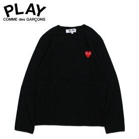 PLAY COMME des GARCONS RED HEART CREW NECK SWEATER コムデギャルソン ニット セーター レディース ブラック 黒 AZ-N067 [194]