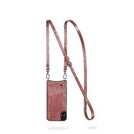 BANDOLIER iPhone8 iPhone7 7Plus 6s EMMA ROSE WAVE バンドリヤー ケース スマホ アイフォン レザー メンズ レディース ワインレッド 10EMM [195]