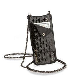 BANDOLIER iPhone8 iPhone7 7Plus 6s SHEILA BLACK バンドリヤー ケース スマホ アイフォン レザー メンズ レディース ブラック 黒 10SHE [5/29 新入荷] [195]