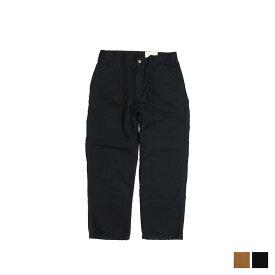 carhartt WASHED DUCK WORK DUNGAREE FLANNEL LINED カーハート パンツ ワークパンツ ペインターパンツ メンズ ブラック ブラウン 黒 B111 [195]