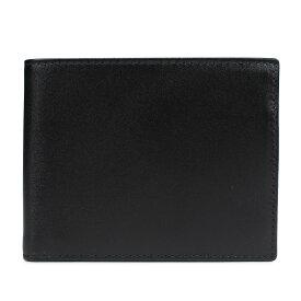 ETTINGER STERLING BILLFOLD WITH 3 C/C & PURSE エッティンガー 財布 二つ折り メンズ 本革 ブラック 黒 ST141JR [193]
