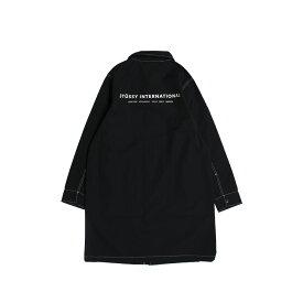 STUSSY NYLON SHOP COAT ステューシー コート ショップコート メンズ ブラック 黒 115408 [196]