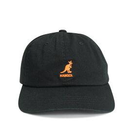KANGOL WASHED COTTON TWILL BASEBALL カンゴール キャップ 帽子 メンズ レディース ブラック 黒 195169506 [197]