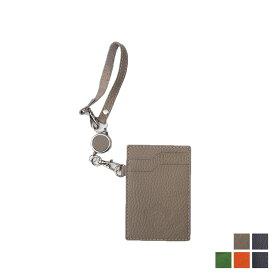Orobianco REEL HOLDER オロビアンコ パスケース カードケース ID 定期入れ リールホルダー メンズ レディース レザー グレー ネイビー グリーン オレンジ ORHO-002 [7/23 新入荷] [197]