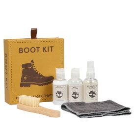 Timberland BOOT KIT AP ティンバーランド シューケアセット ブーツケア 靴 革 防水スプレー 撥水 シューズブラシ クリーナー シューズケア ケア用品 ケア A1HGT [198]