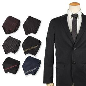GIVENCHY ジバンシー ネクタイ メンズ イタリア製 シルク ビジネス 結婚式 ブラック ネイビー 黒 [10/11 新入荷] [1910]