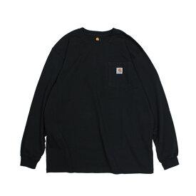 carhartt WORKER POCKET LS T-SHIRTS カーハート Tシャツ メンズ 長袖 ロンT K126