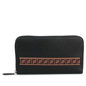 FENDI GRACE BICO TRAVEL WALLET フェンディ 財布 長財布 メンズ レディース ブラック 黒 7M0276 A8VC