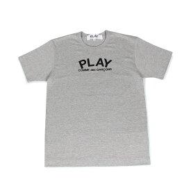 【最大1000円OFFクーポン】 PLAY COMME des GARCONS PLAY LOGO TEE プレイ コムデギャルソン Tシャツ 半袖 メンズ グレー T0720511