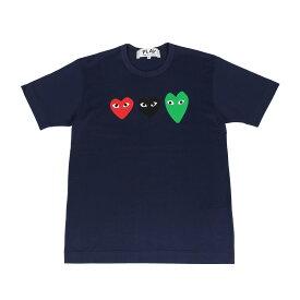 PLAY COMME des GARCONS PLAY プレイ コムデギャルソン Tシャツ 半袖 メンズ ネイビー T1860512