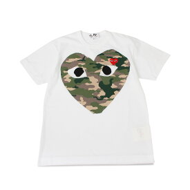 PLAY COMME des GARCONS PLAY プレイ コムデギャルソン Tシャツ 半袖 メンズ ホワイト 白 T2420511