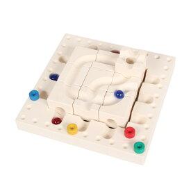 Cuboro TRICKY WAYS FASAL キュボロ トリッキーウェイ ファサール 知育玩具 ボードゲーム キッズ ベージュ OCB0001