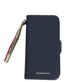 Orobianco PU LEATHER BOOK TYPE CASE オロビアンコ iPhone11 Pro ケース スマホ 携帯 手帳 アイフォン メンズ レディース シュリンク ブラック ネイビー グレージュ レッド 黒