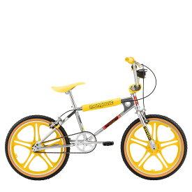 Mongoose STRANGER THINGS MAX マングース ストレンジャー シングス マックス BMX 自転車 20インチ 子供用 キッズ ストリート フリースタイル イエロー R0995WMDS