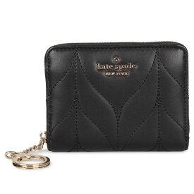 kate spade DANI SMALL WALLET ケイトスペード 財布 コインケース 小銭入れ レディース ラウンドファスナー ブラック 黒 WLRU5494